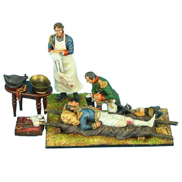 First Legion  NAP0389 Napoleon, Marshal Lannes, Surgeon and Accessories (Scenes)