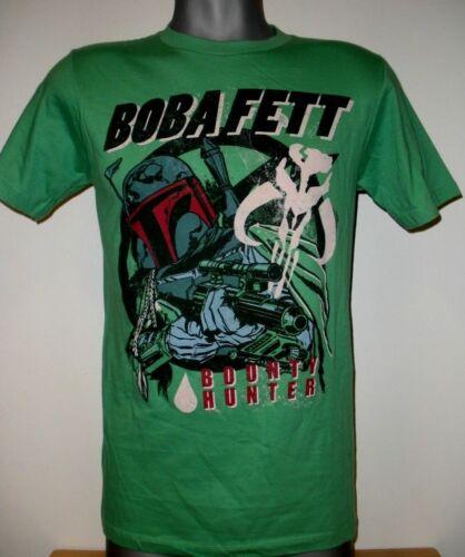 New Disney Star Wars Boba Fett Bounty Hunter Movie Short sleeve graphic T-shirt