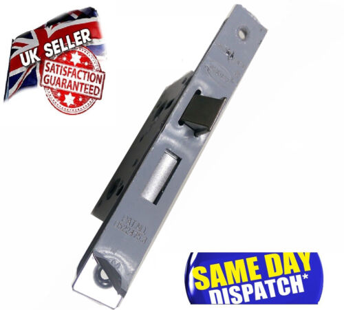 """polished Chrome accesories included 75mm 3/"""" Bathroom Mortice Door Lock"""