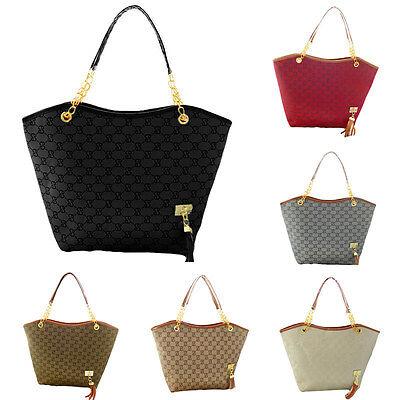 Fashion Women Hobo Shoulder Bag Messenger Purse Satchel Tote Tassel Handbag Gift