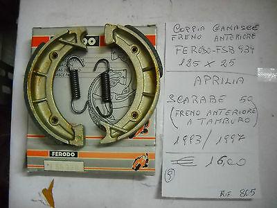 GF0268 NEWFREN GANASCE FRENO POSTERIORE SCOOTER COMPATIBILE CON PIAGGIO LIBERTY 2T 50 1997
