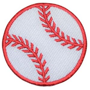Baseball-Applique-Patch-Iron-on