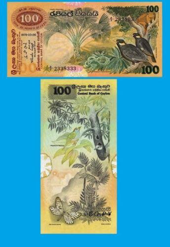 UNC-Reproduction Sri Lanka-100-Rupees-1979
