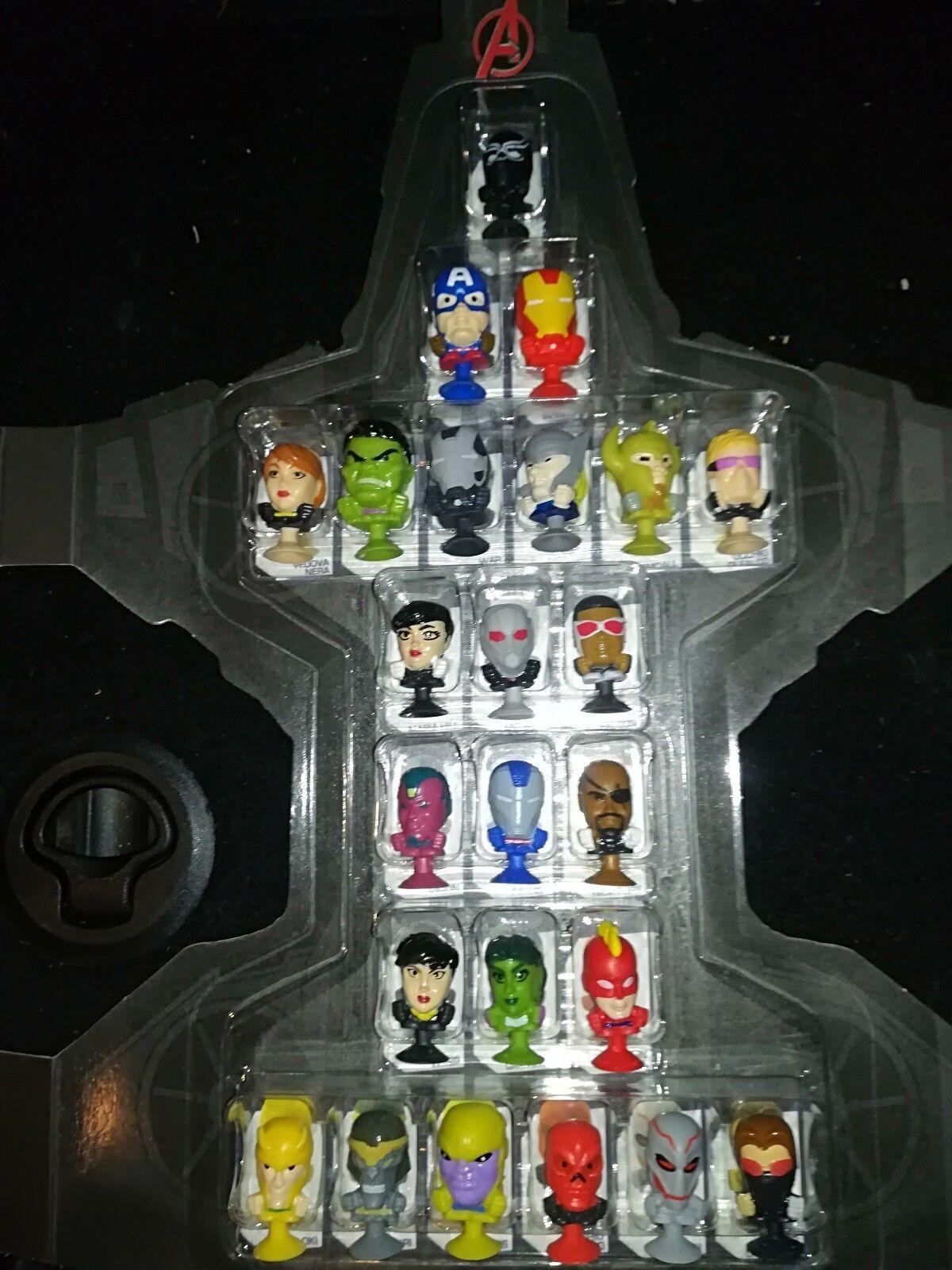 MEGAPOPZ MARVEL AVENGERS COMPLETE SET Ant-Man Thor Hulk Captain America Ultron