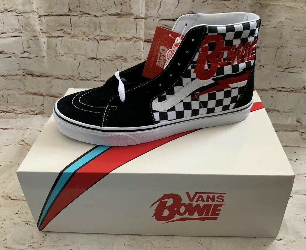 c10e1685a Vans Bowie Hi s. Size 12 Mens. NIB NWT Sk8 David nvepnu6397-Athletic ...