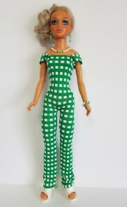 TIFFANY-TAYLOR-19-034-DOLL-CLOTHES-Sexy-Jumpsuit-and-Jewelry-FASHION-NO-DOLL-d4e