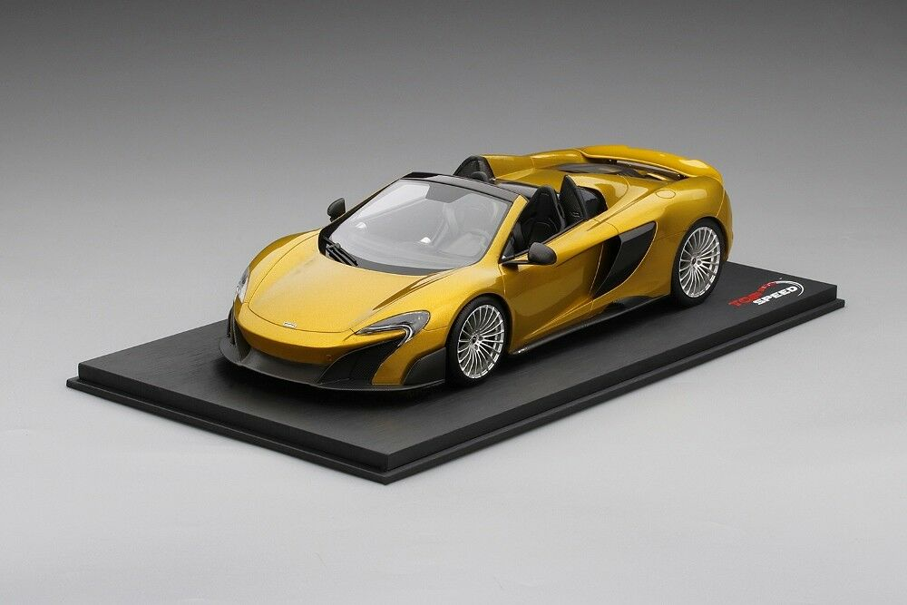 McLaren 675LT Spider Solis in 1:18 Scale by Topspeed TS0071