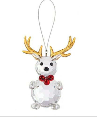 Ganz Crystal Expressions Jingle Reindeer Christmas Ornament