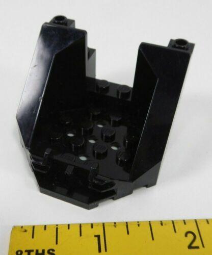 Lego 30200 Cockpit 6 x 6 x 3 1//3 Octagonal Canopy Base Black