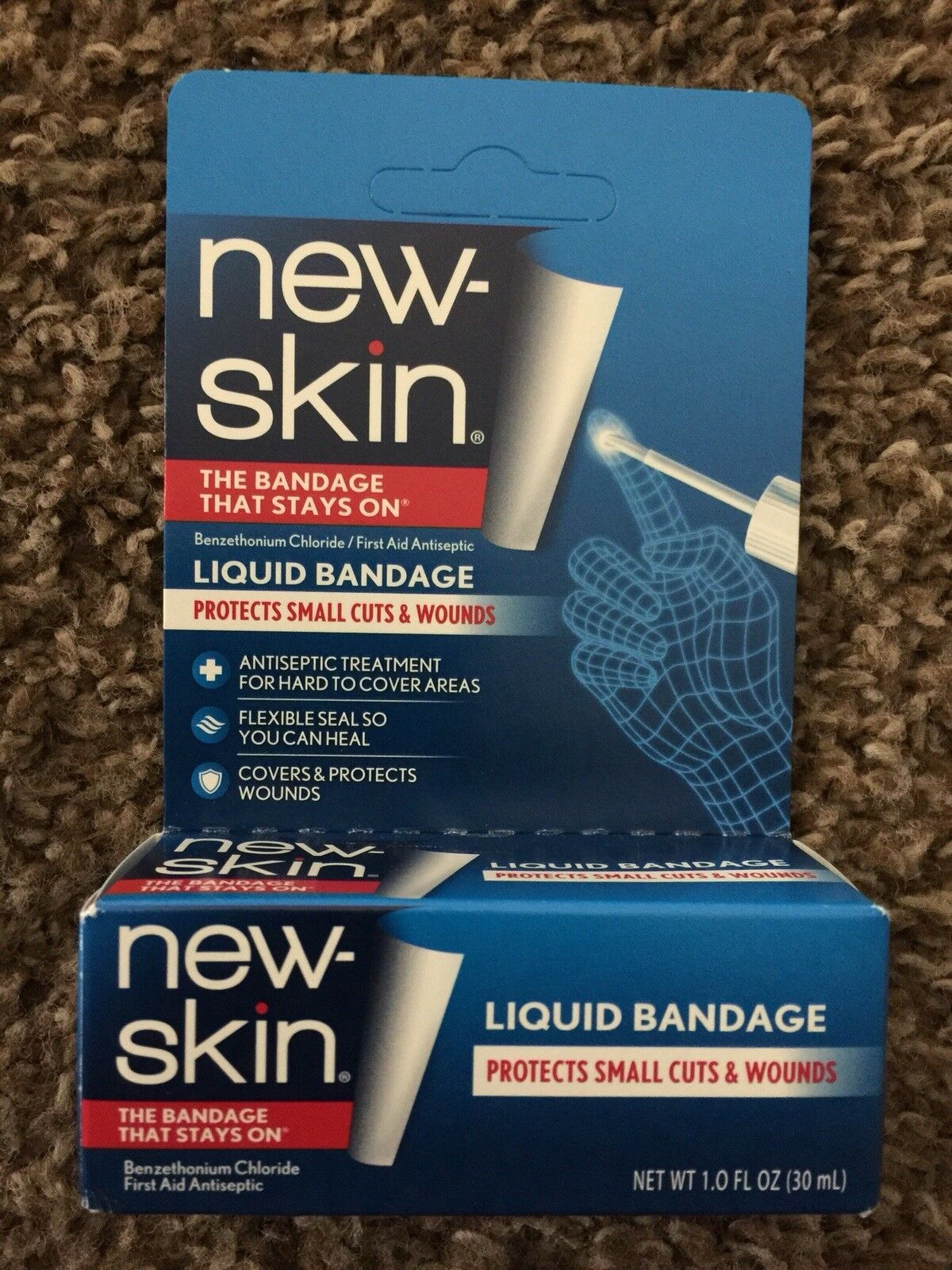 New-Skin First Aid Antiseptic Liquid Bandage 1 fl oz (3