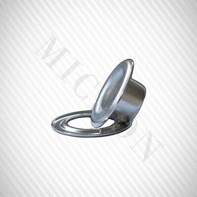 "1//8/"" 500 Pcs Set Per Bag Micron #1.7 Nickel Self-Piercing Grommets /& Washers"
