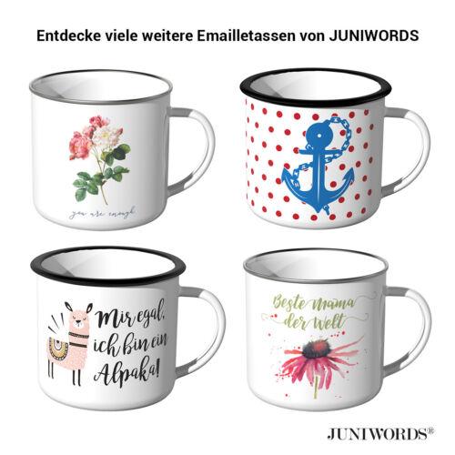 Lieblingsfreund Stern JUNIWORDS Emaille-Tasse Freund