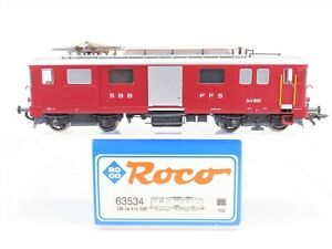 HO-Scale-Roco-63534-SBB-CFF-Swiss-Federal-De-4-4-Electric-Locomotive-1665