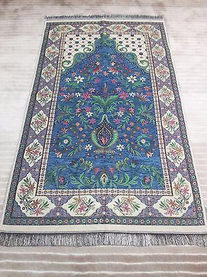 New Turkish Islamic Prayer Rug-CARPET-Mat Namaz Salat Musallah first quality
