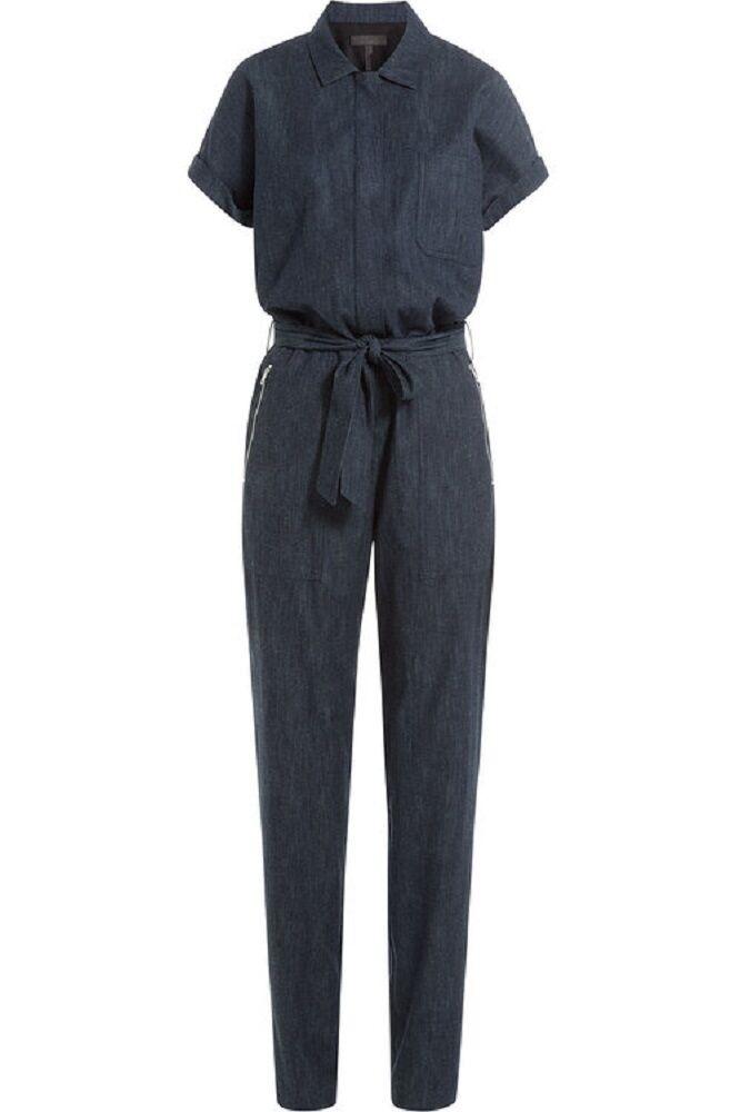 Rag & Bone Women's Dark Wash Denim Tiggy Jumpsuit Size 0 Jeans