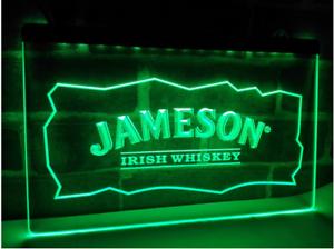 Jameson Irish Whiskey Neon Sign Bar Pub Man Cave Advertising Etc New