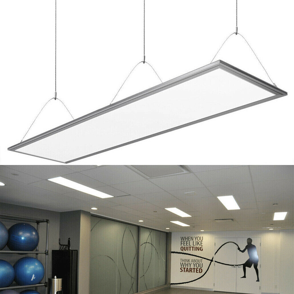 4x 72w Ceiling Suspended Recessed Led