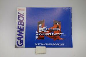KILLER-INSTINCT-manuale-di-istruzioni-per-NINTENDO-gameboy