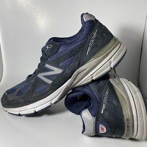 New-Balance-990-M990NV4-Navy-Running-Shoes-US-Men-s-Size-13-Width-2A