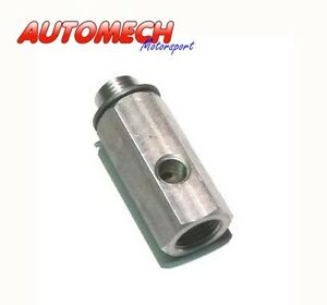 Alloy-Oil-Pressure-Gauge-034-T-034-Piece-M16x1-5-Male-amp-Female-to-1-8NPT-054