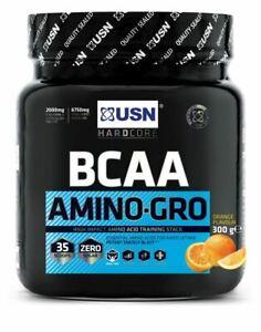 USN-BCAA-Amino-Gro-ad-alto-impatto-aminoacido-integratore-Stack-di-formazione-300g