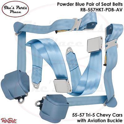 1955-57 Chevy Seat Belt Reels pair