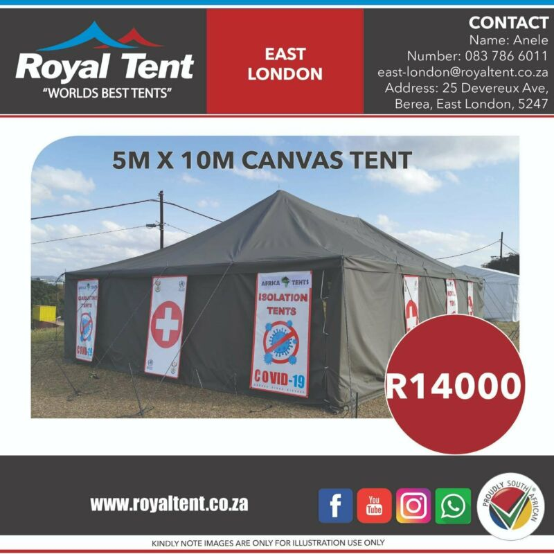 Canvas Tent East London Gumtree Classifieds South Africa