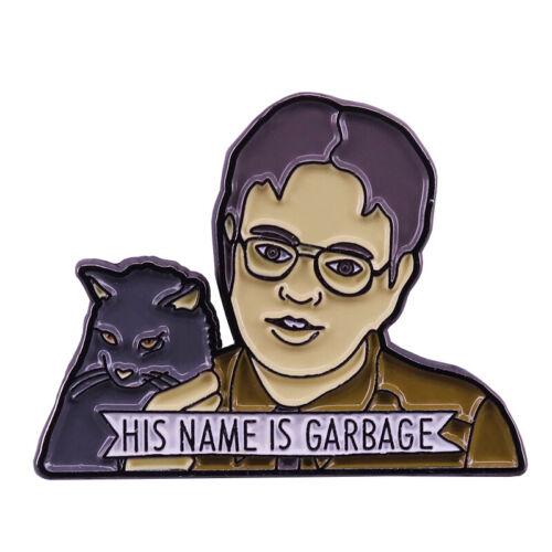 Dwight Schrute avec chat lapel pin le Bureau Fans Pop Accessoire