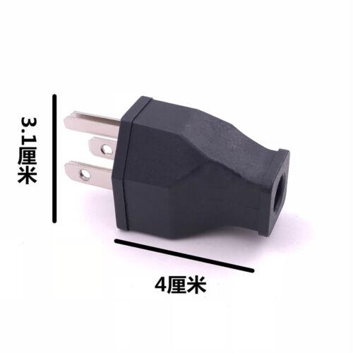 USA 3 Pin Rewireable Plug//Socket,Nema 5-15P 5-15R,15AMP 125V,Electrical Power