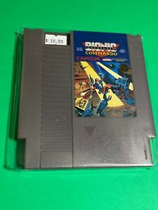 100-WORKING-NINTENDO-NES-SUPER-RARE-GAME-Cartridge-CAPCOM-BIONIC-COMMANDO