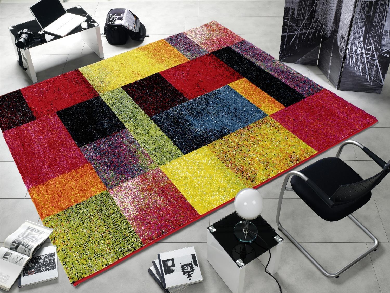 Tappeto MultiColoreeee Designer HA025 New Shimmer Moderno 80x150cm Coloreeato