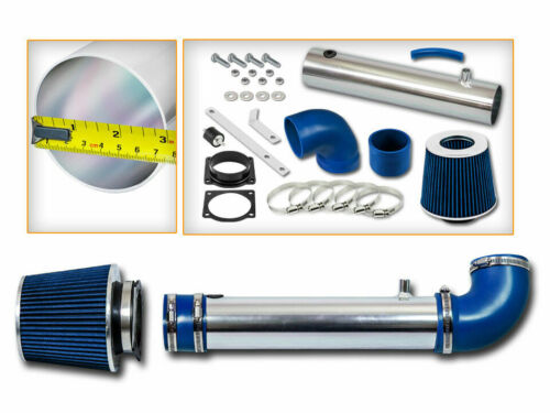 RAM AIR INTAKE KIT BLUE DRY Filter For Ford 95-00 Explorer Ranger 4.0L OHV V6