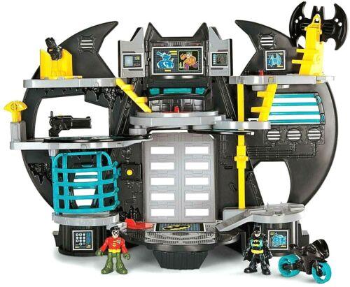 Fisher-Prix Imaginext Super amis une Batcave Batman /& Robin Command Center NEUF