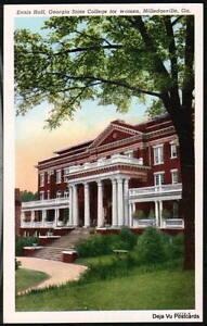 MILLEDGEVILLE-GA-State-College-for-Women-Ennis-Hall-Vtg