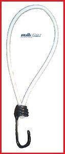25x-Planenspanner-Expanderschlinge-mit-Spiralhaken-Schlinge-18cm-weiss-schwarz