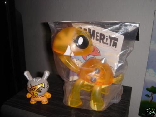 Joe LEDBETTER Orange gamerita (Scellé) seulement 300 made & signé Dunny  Craola Buff