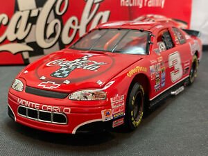 Action-Dale-Earnhardt-3-Coke-NASCAR-1998-Chevy-Monte-Carlo-1-24-Diecast