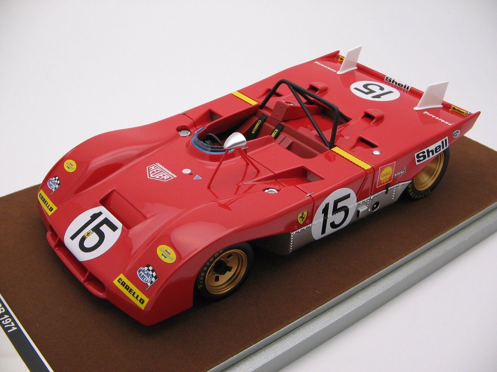 1 18 Scale Tecnomodel Ferrari 312pb Monza 1000 KMS 1971 tm18-61c