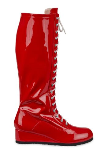 Mens Red Wrestling Boots