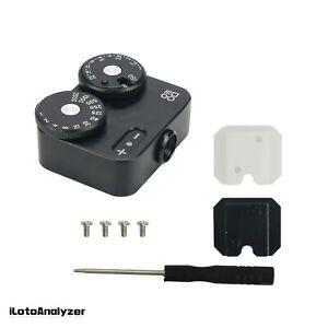 DOOMO Meter D Hot Shoe Light For Dual Lens Reflex Camera 135 Range Finder Leica