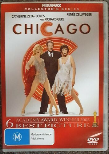 1 of 1 - Chicago - 2 Disc Collectors Series (Richard Gere) EXCELLENT condition (Region 4)