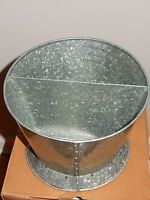 Pottery Barn Galvanized Container