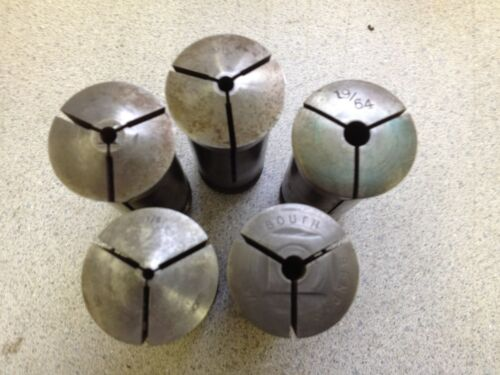 Misc 5-C Collet One Collet  Several Smaller Diameters 3//16-19//64 You Pick