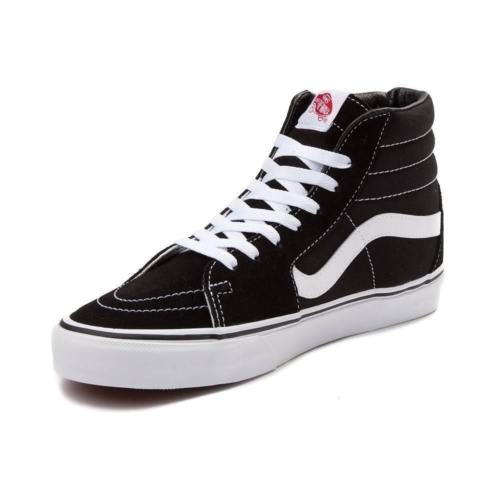 les femmes sk8-hi skateboard les de chaussures en daim noir classique de les toile taille 6 a7adfd