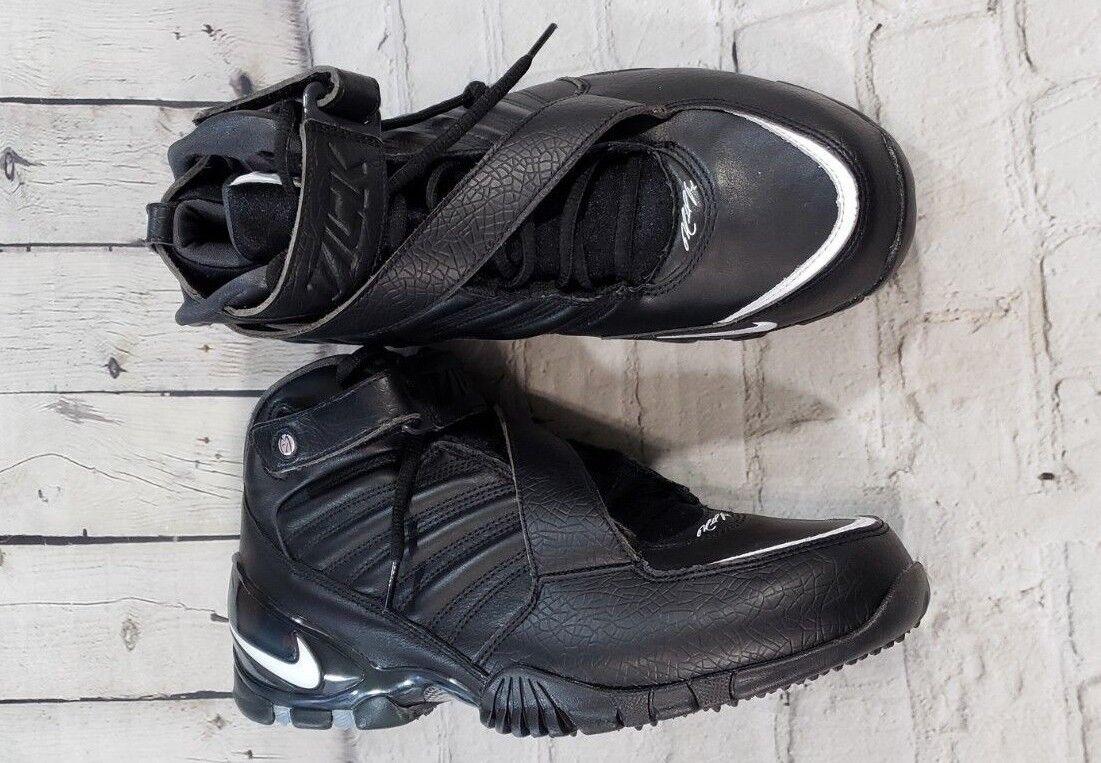 NEW Nike Zoom Vick III 3 Black White Classic 832698-002 MENS SIZE 9.5 Msrp $160