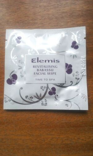 100 x Elemis Revitalising Babassu Facial Face Wipes New & Sealed