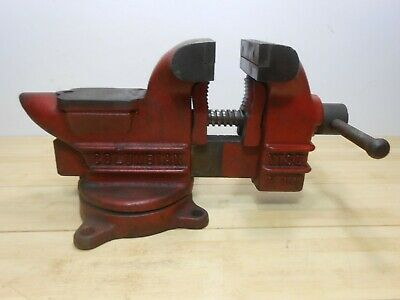 Early Columbian C44 Swivel Bench Vise Anvil Pipe Jaws ...