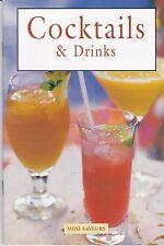 COCKTAILS & DRINKS - ANNE WILSON - LIVRET COLLECTION MINI SAVEURS  - TBE