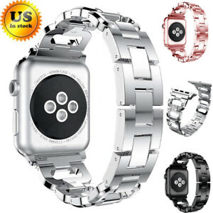 Stainless Steel Women S Wrist Strap Band For Apple Watch Series 5 4 3 2 38 44mm Ebay