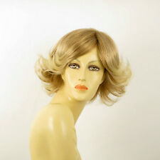 Perruque femme courte blond clair cuivré méché blond clair JEANETTE 27t613